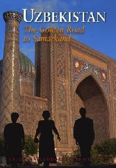 Reisgids Uzbekistan - The Golden Road to Samarkand   Odyssey Books & Guides