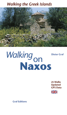 Wandelgids N�xos and the Small Cyclades   Graf Editions   Christian Ucke, Dieter Graf
