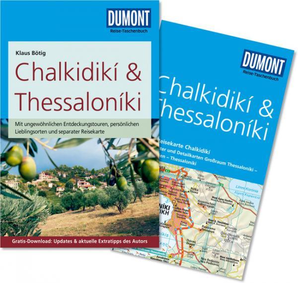Reisgids Chalkidiki & Thessaloniki   Dumont RTB