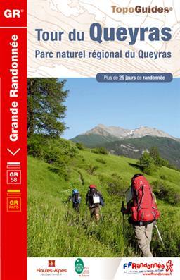 Wandelgids 505 Tour du Queyras - Parc naturel régional du Queyras GR58   FFRP
