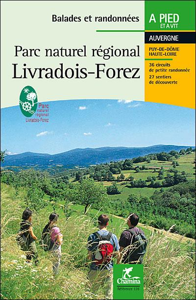 Wandelgids Livradois-Forez PNR à pied+vtt Mountainbikegids   Chamina