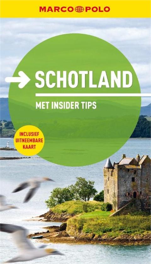 Reisgids Schotland Marco Polo   Unieboek