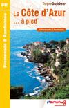Wandelgids P061 La Côte d'Azur... à pied   FFRP