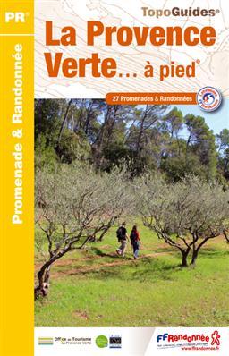 Wandelgids P834 La Provence Verte ... à pied   FFRP