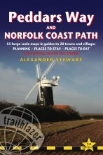 Wandelgids Peddars Way & Norfolk Coast Path : Trailblazer : Alexander Stewart