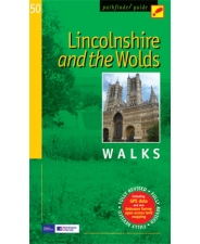 Wandelgids 50 Lincolnshire and the Wolds Walks Pathfinder : Crimson : Great Britain. Ordnance Survey