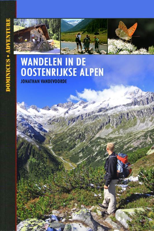 Wandelgids Wandelen in de Oostenrijkse Alpen   Dominicus   Jonathan Vandevoorde