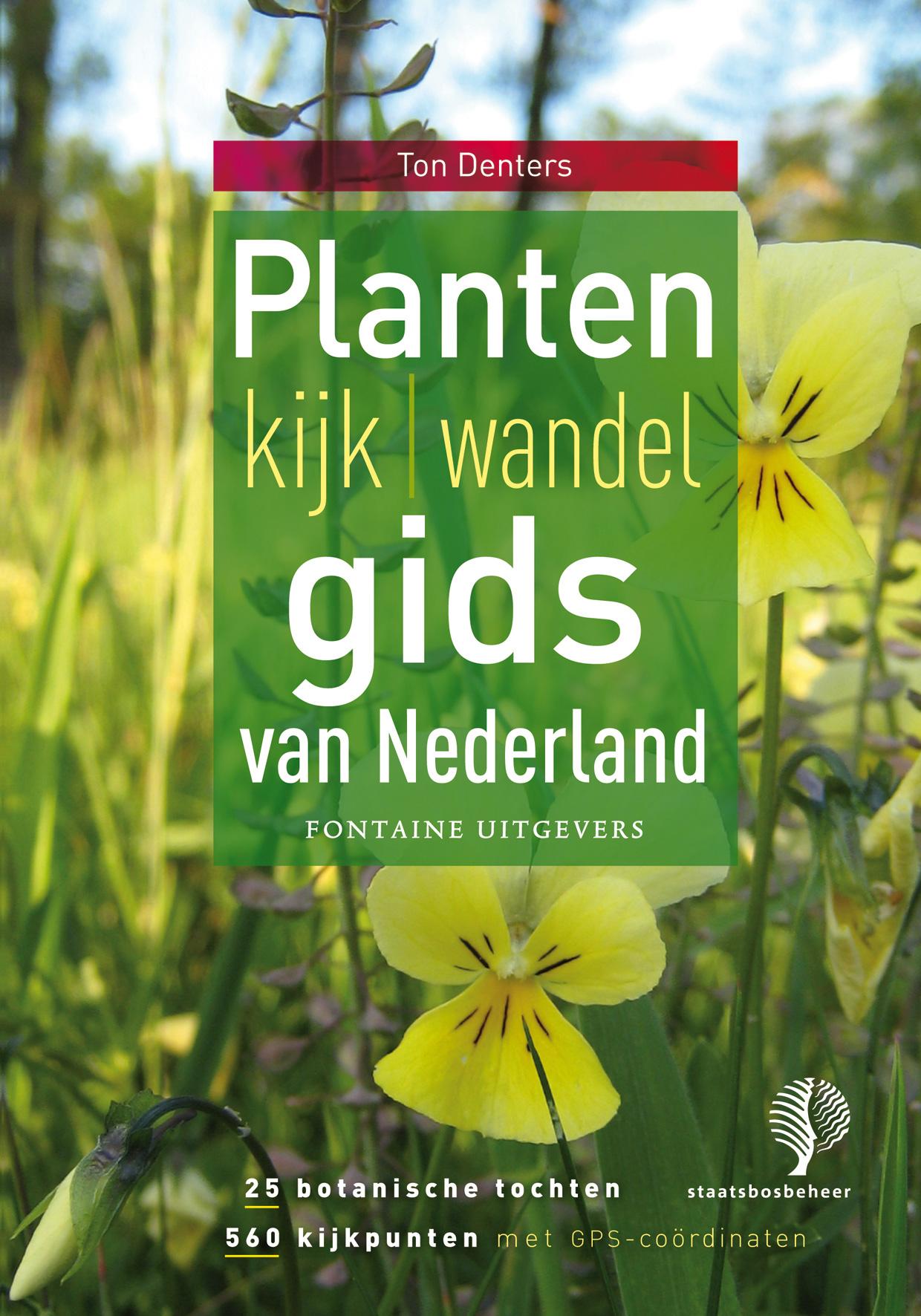 Natuurgids Planten kijkgids van Nederland    Fontaine