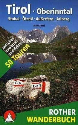 Wandelgids Tirol Oberinntal   Rother wanderbuch
