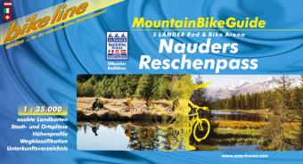 Mountainbike gids - guide Nauders Reschenpass   Bikeline