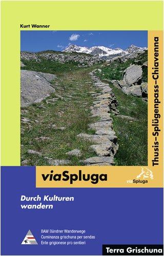 Wandelgids Via Spluga   Terra Grischuna Verlag