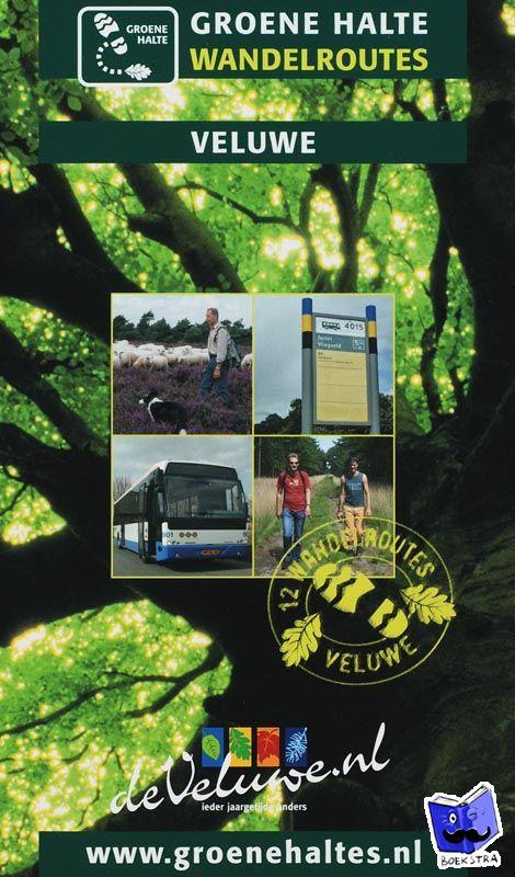 Wandelgids Groene Haltes Wandelroutes Veluwe   VBVT
