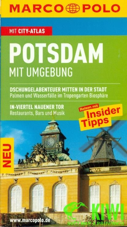 Reisgids Potsdam und Umgebung   Marco Polo (Duits)