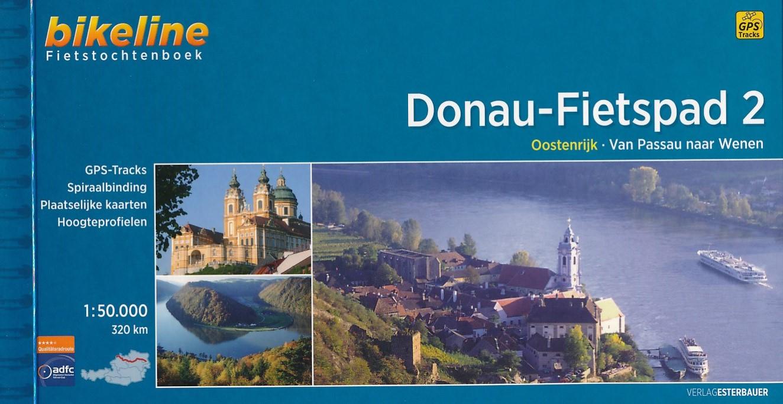 Fietsgids Donaufietspad - Donauradweg Passau - Wenen   Bikeline
