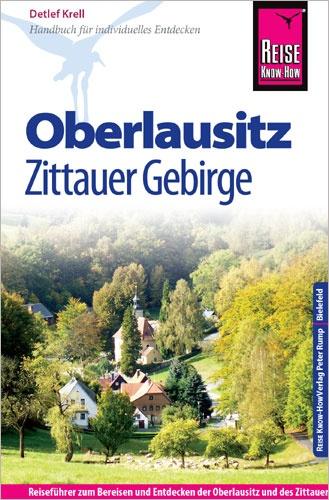 Reisgids Oberlausitz, Zittauer Gebirge   Reise Know How   Detlef Krell