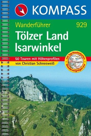 Wandelgids Tolzer land - Isarwinkel - Ch. Schneeweiss   kompass 929