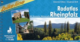Fietsgids Radatlas Rheinpfalz   Bikeline Esterbauer   Gabriele F�lbier,Sieglinde Rei�