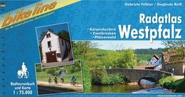 Fietsgids Radtourenbuch Radatlas Westpfalz   Bikeline Esterbauer   Gabriele F�lbier,Sieglinde Rei�
