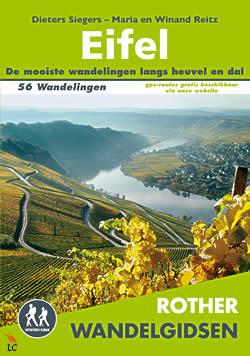 Wandelgids Eifel; 56 Wandelingen, met GPS   Rother  Elmar   Siegers, Reitz