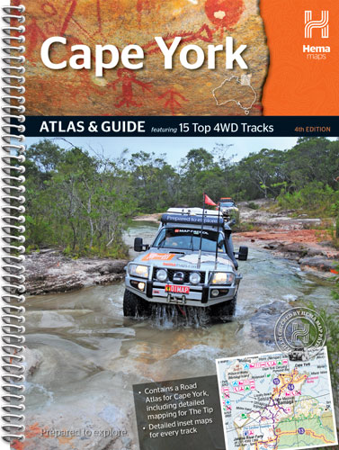Wegenatlas Cape York Atlas & Guide   Hema maps