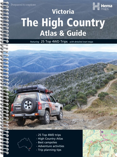 Wegenatlas Victoria High Country Atlas & Guide   Hema maps
