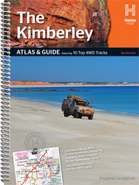Wegenatlas The Kimberley Atlas & Guide   Hema maps