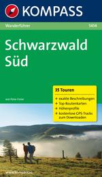 Wandelgids Schwarzwald S�d 5414  Kompass   Peter Freier