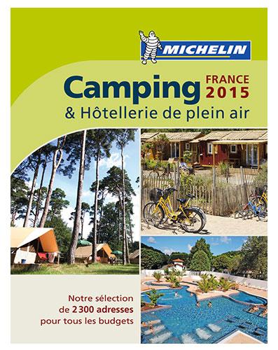 Campinggids Camping France 2015 (Frankrijk)   Michelin
