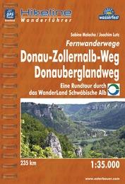 Wandelgids Fernwanderwege Donau-Zollernalb-Weg, Donauberglandweg   Hikeline