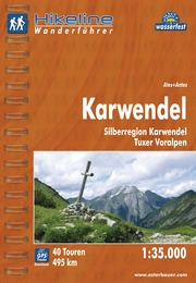 Wandelgids Wanderführer Karwendel   Hikeline