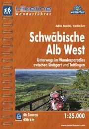 Wandelgids Wanderf�hrer Schw�bische Alb West   Hikeline