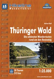 Wandelgids Wanderf�hrer Th�ringer Wald   Hikeline