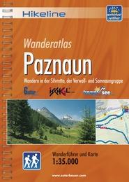 Wandelgids Wanderführer Paznaun   Hikeline
