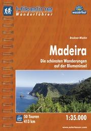 Wandelgids Wanderführer Madeira   Hikeline