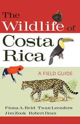 Natuurgids The Wildlife of Costa Rica   A&C Black