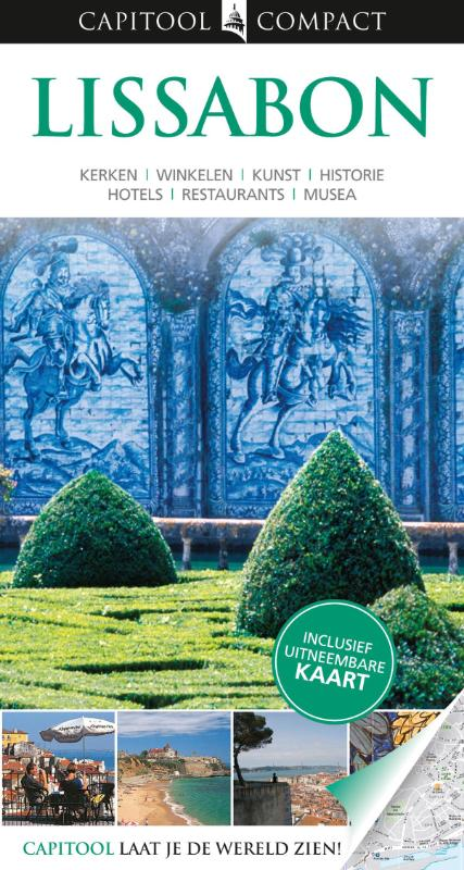Reisgids Capitool Lissabon compact   Unieboek