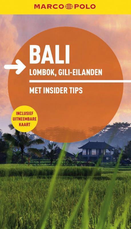 Reisgids Marco Polo Bali, Lombok, Gili-eilanden   Unieboek