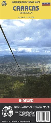 Stadsplattegrond - kaart Caracas   ITMB