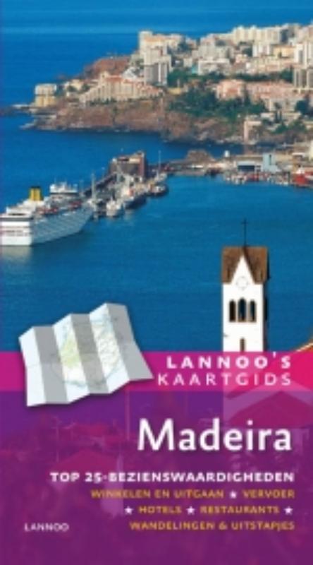 Reisgids Kaartgids Madeira   Lannoo