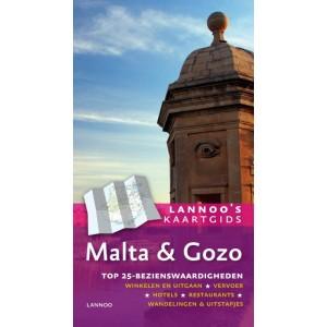 Reisgids Kaartgids Malta en Gozo   Lannoo