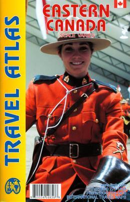 Wegenatlas Travel atlas Eastern Canada / Oost Canada   ITMB