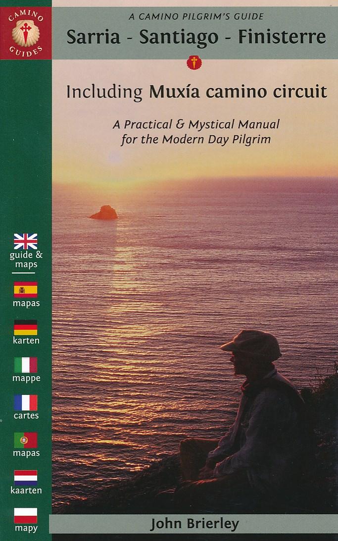 Wandelgids A Camino Pilgrim's Guide Sarria - Santiago - Finisterre   John Brierly   John Brierley