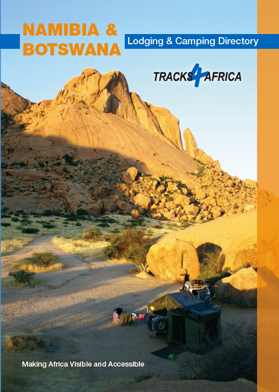 Namibia & Botswana Lodging & Camping Directory tracks   Tracks4Africa