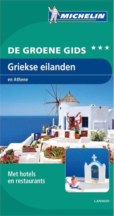 Reisgids Griekse Eilanden en Athene   Michelin