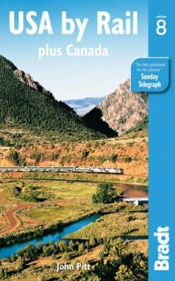 Reisgids USA by Rail & Canada's main routes   Bradt