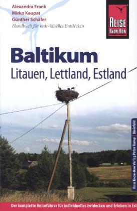 Reisgids Baltische Staten - Baltikum, Estland, Letland, Litouwen   Reise Know-how   Alexandra Frank,Mirko Kaupat, Günther Schäfer