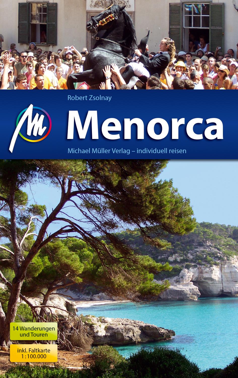 Reisgids Menorca   Michael Muller Verlag