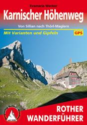Wandelgids Karnischer Höhenweg   Rother