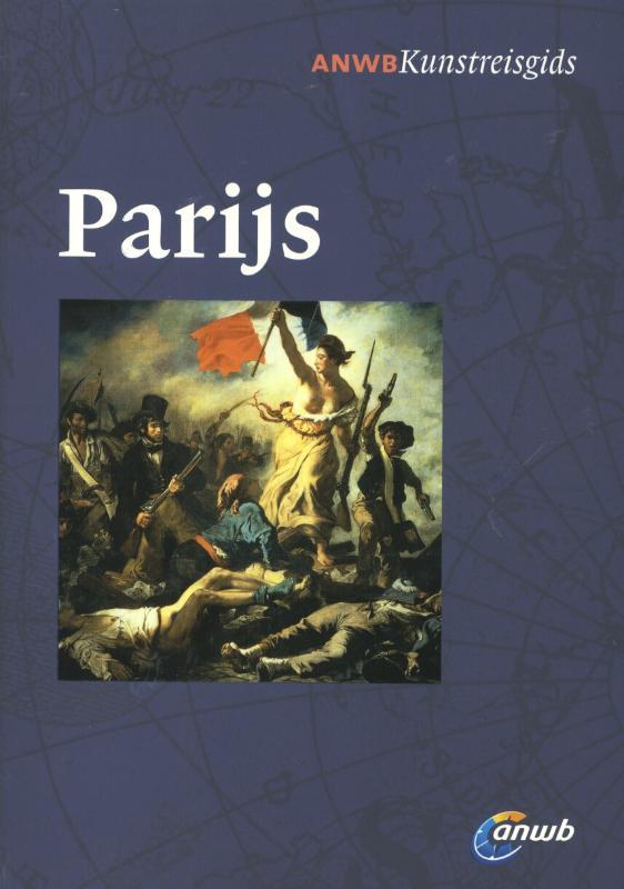 Kunst reisgids Parijs   ANWB