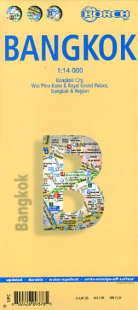 Stadsplattegrond Bangkok   Borch Maps